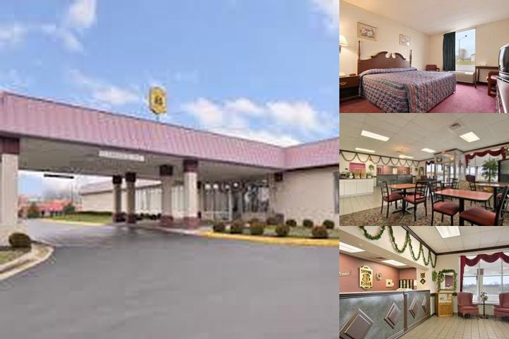 Super 8 Springfield photo collage