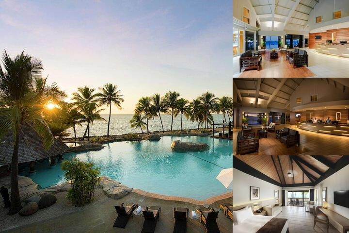 Doubletree Resort by Hilton Hotel Fiji Sonaisali Island photo collage