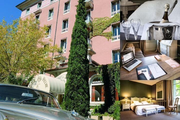 Hotel Helvie photo collage