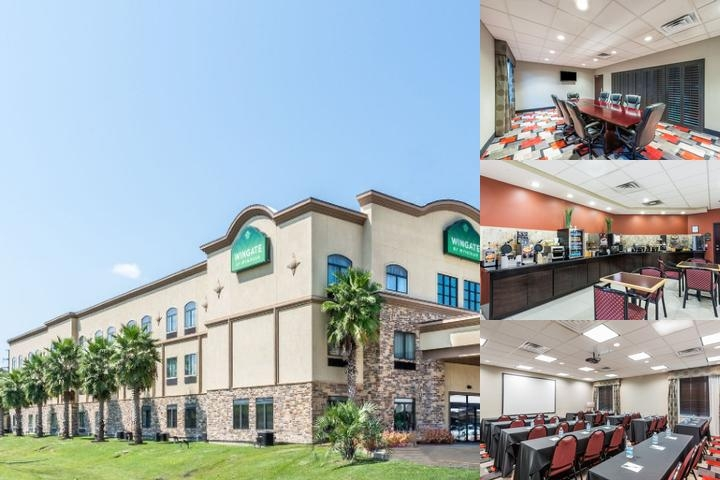 Wingate by Wyndham Lake Charles Casino Area photo collage