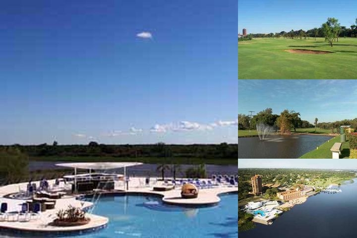 Resort Yacht Y Golf Club Paraguayo photo collage