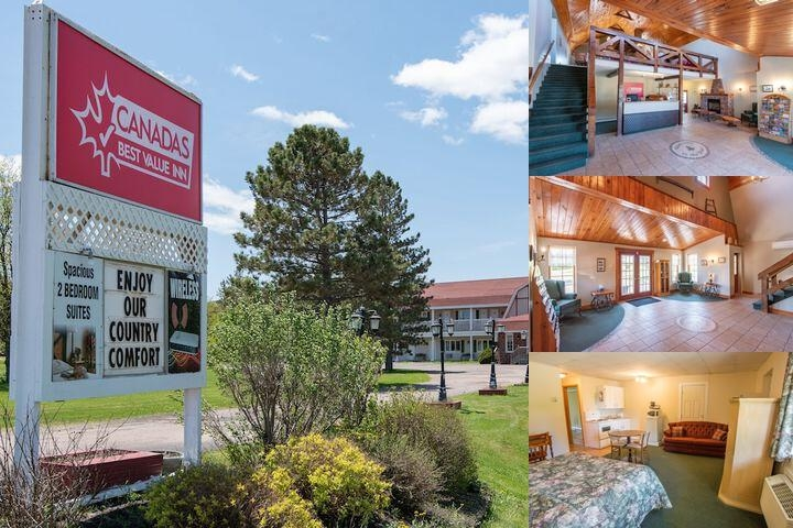 Canada's Best Value Inn & Suites Summerside photo collage