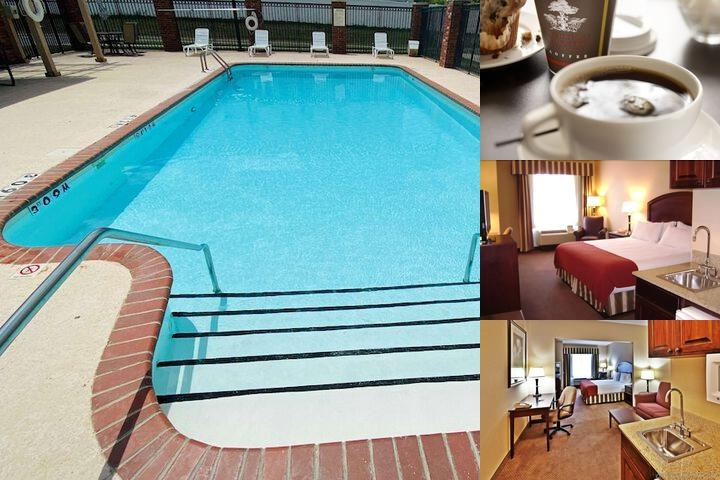 Holiday Inn Express Hotel & Suites Tulsa Catoosa E photo collage