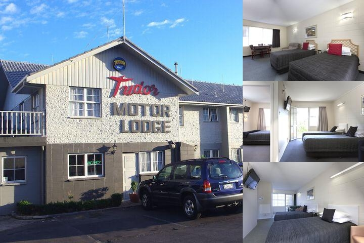 Tudor Motor Lodge photo collage