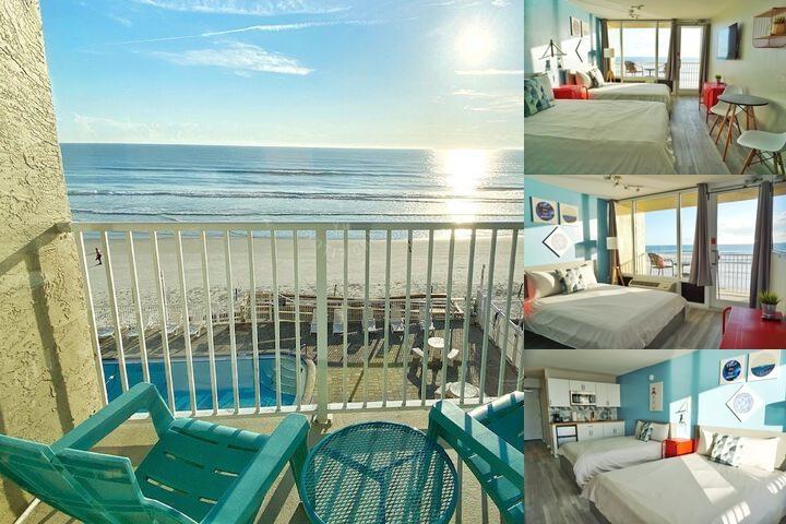 Pirates Cove Daytona Beach Resort Photo Collage