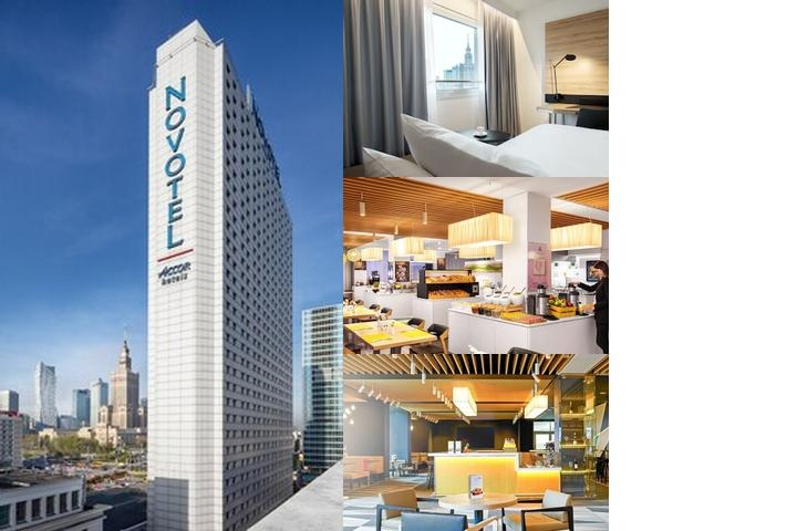 Novotel Warszawa Centrum photo collage