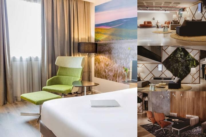 Novotel Sevilla photo collage