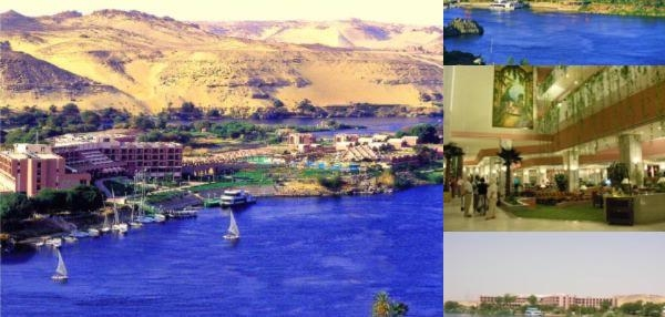 Pyramisa Isis Island Aswan Resort photo collage