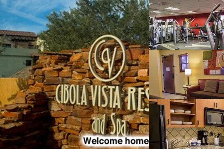 Cibola Vista Resort & Spa photo collage
