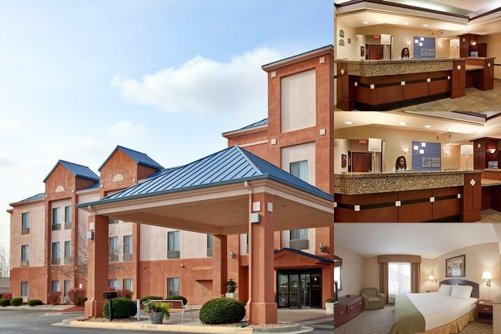 Lansing Holiday Inn Express Hotel Suites Photo Collage