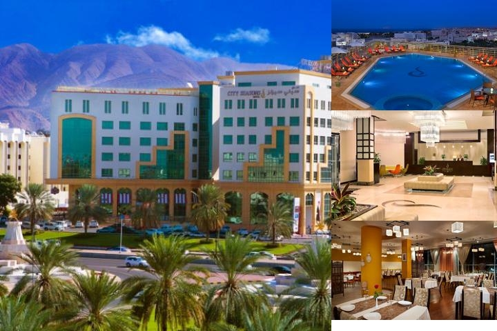 City Seasons Hotel Muscat photo collage
