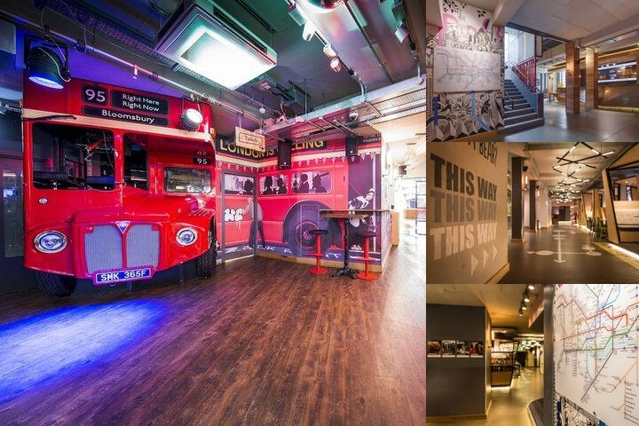 Generator Hostel London photo collage
