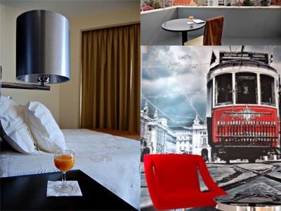 Lisbon City Hotel photo collage