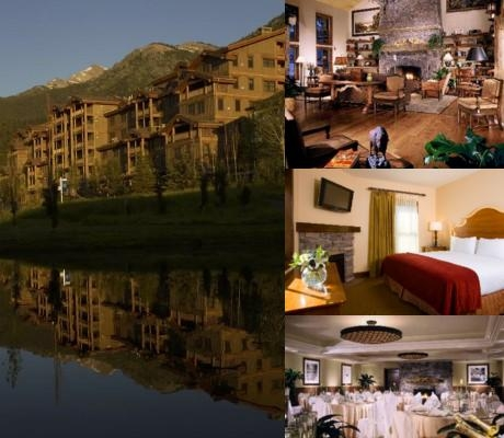 Teton Mountain Lodge & Spa a Noble House Resort photo collage