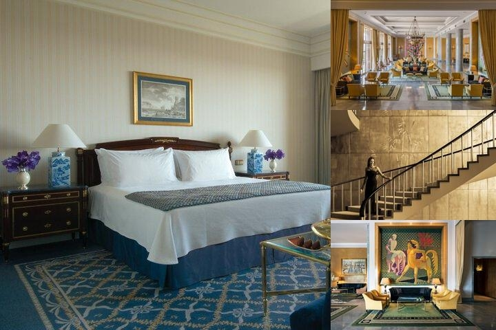 Four Seasons Hotel Ritz Lisbon photo collage