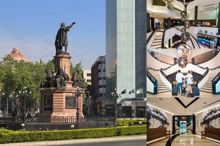 Le Meridien Mexico City photo collage