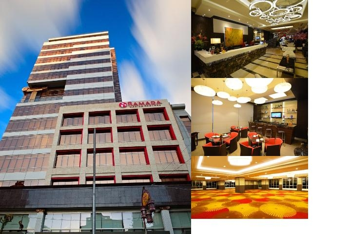 Ramada Manila Central photo collage