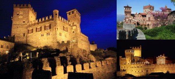 Castello Di Pavone photo collage