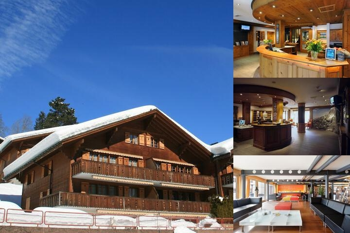 Hotel Eiger photo collage