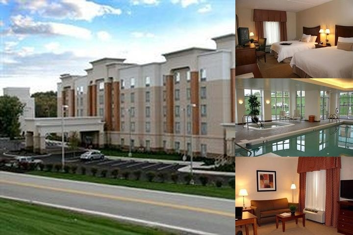 Hampton Inn & Suites Pittsburgh Meadow Lands photo collage