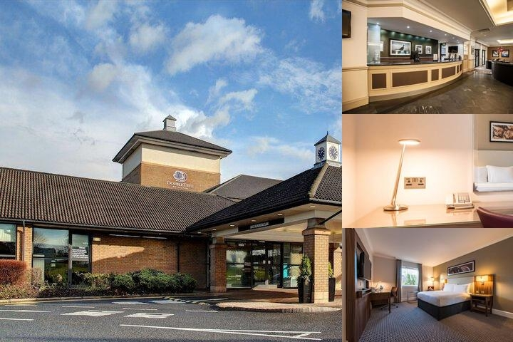 Doubletree by Hilton Hotel Edinburgh Airport photo collage