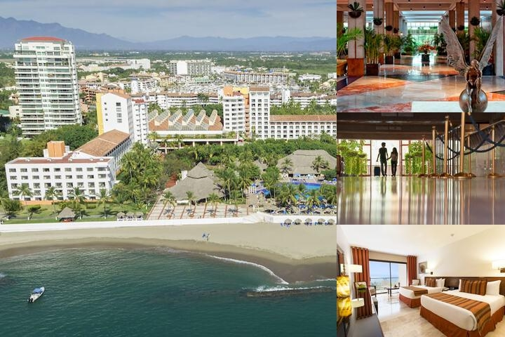 Meliá Puerto Vallarta Mexico All Inclusive photo collage