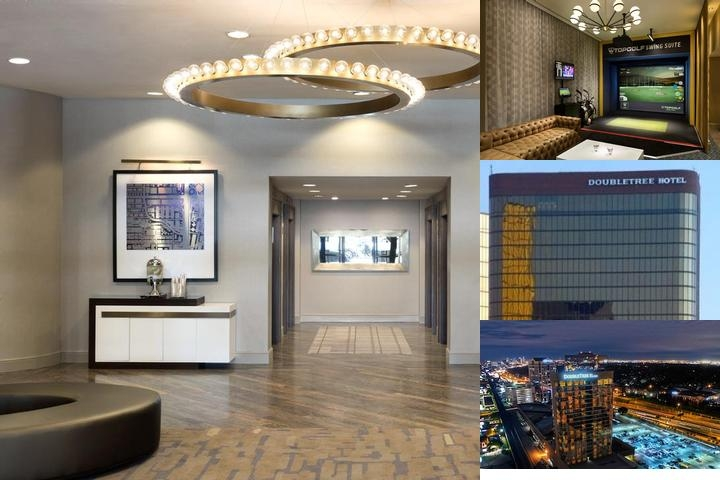Doubletree Campbell Centre Dallas photo collage