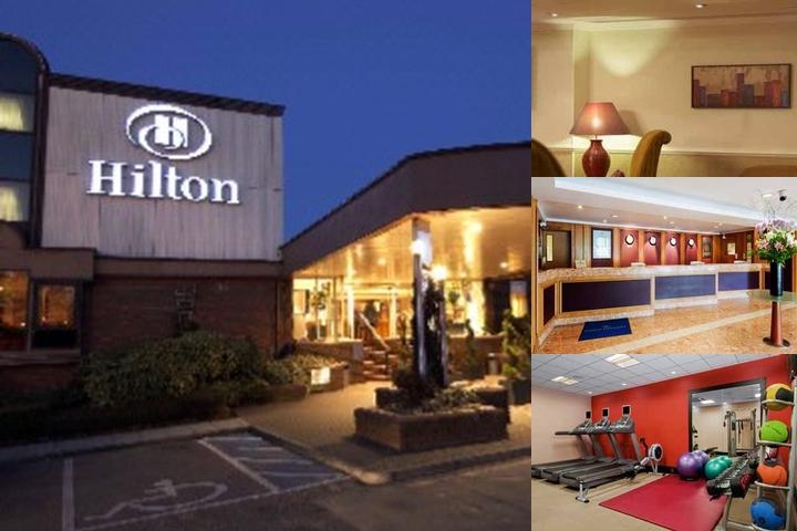 Hilton Watford photo collage