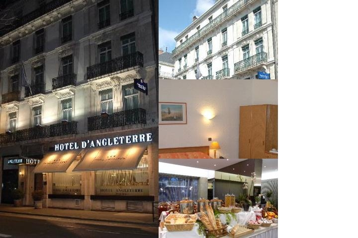 Hotel Angleterre photo collage