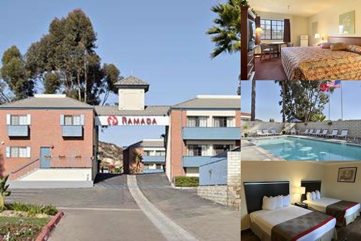 Ramada Poway San Diego North photo collage