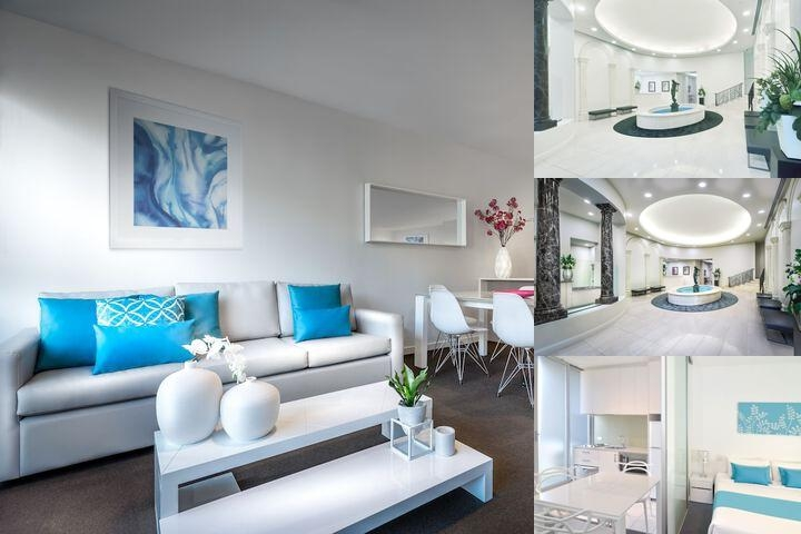 Milano Serviced Apartments photo collage