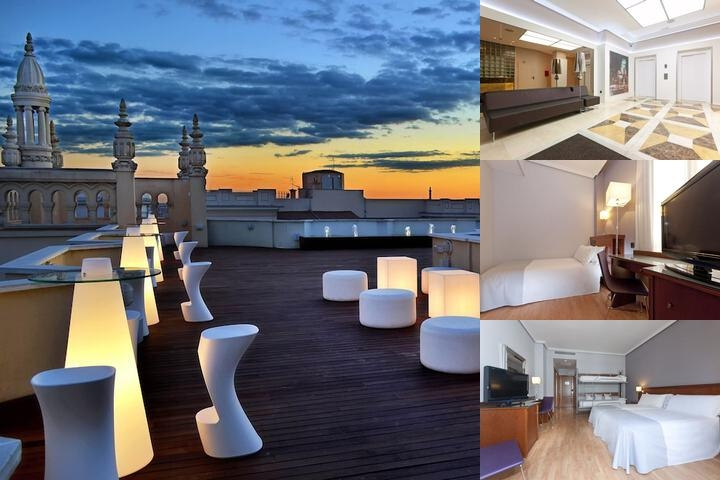 Tryp Madrid Cibeles Hotel photo collage