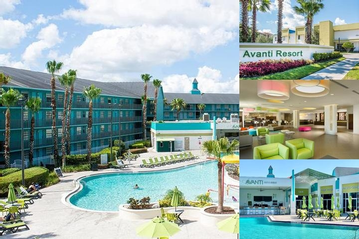 Avanti Resort Orlando photo collage