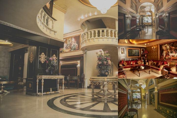 Queen's Suite Hotel photo collage
