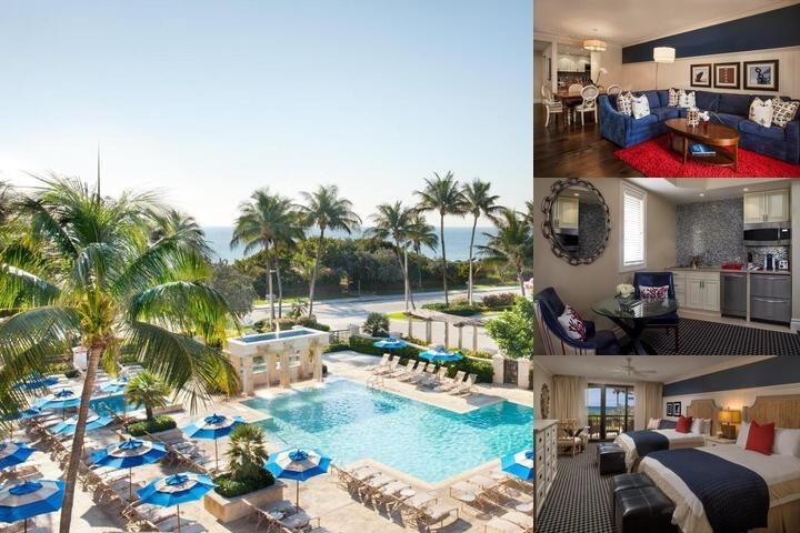 Delray Beach Marriott photo collage