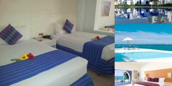 Crown Pacific Huatulco All Inclusive photo collage