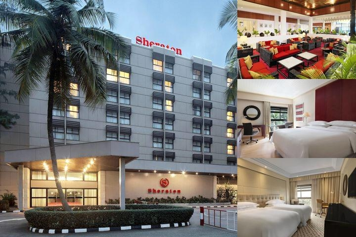 Sheraton Lagos Hotel photo collage
