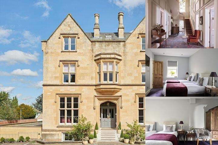 Cotswold Grange Hotel photo collage