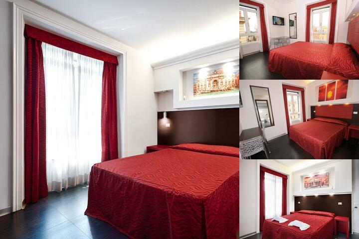 Imperial Suite Rome photo collage
