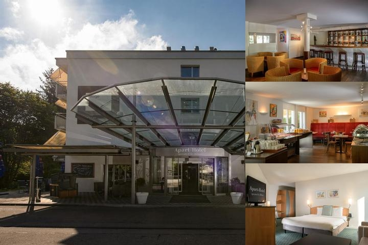 Hilton Zurich Airport photo collage