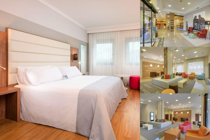 Tryp Santiago Hotel photo collage
