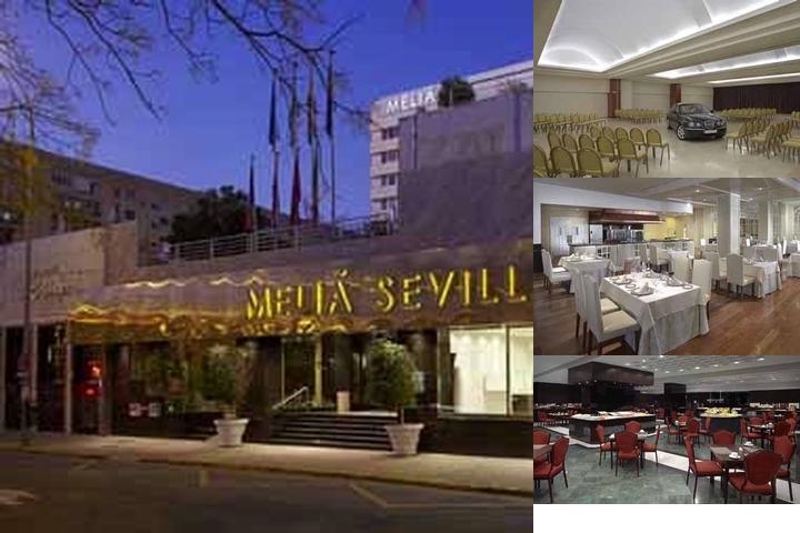 Melia Sevilla photo collage