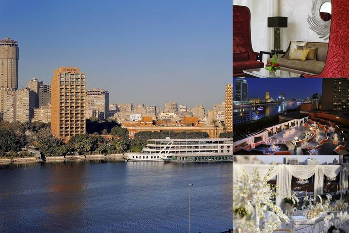 Cairo Marriott Hotel & Omar Khayyam Casino photo collage