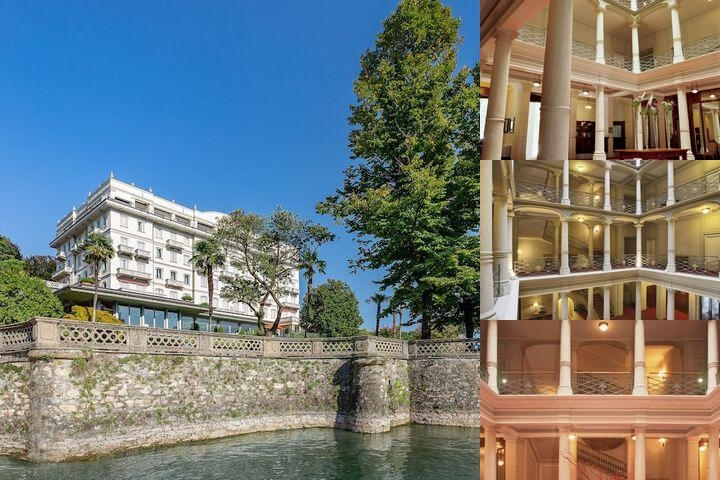 Grand Hotel Majestic Verbania photo collage