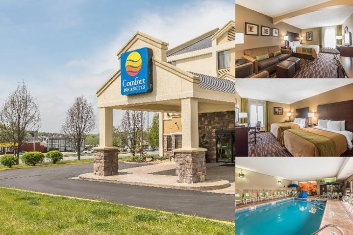 Comfort Inn & Suites Kansas City Northeast photo collage