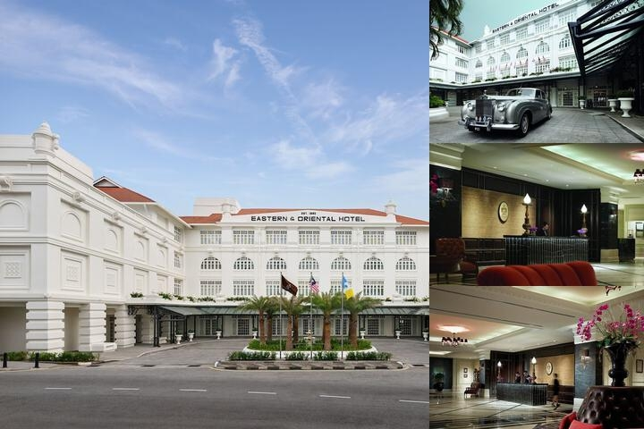 Eastern & Oriental Hotel photo collage