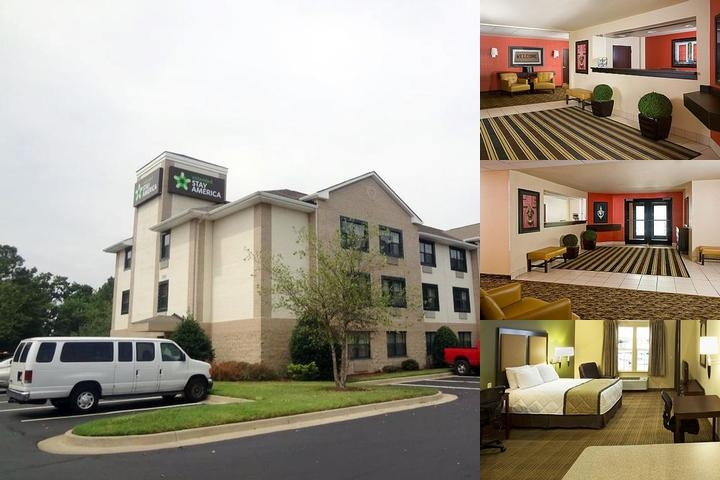 Extended Stay Hotels photo collage