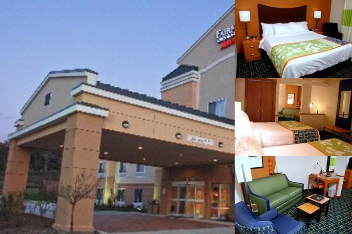 Fairfield Inn & Suites by Marriott Columbia photo collage