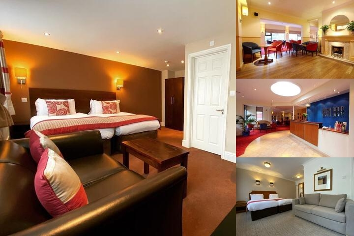 Great Barr Hotel photo collage