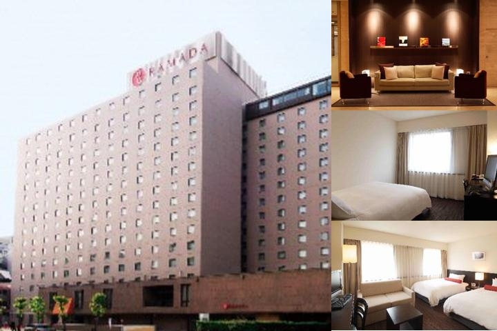 Ramada Hotel Osaka photo collage